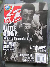 LIVING BLUES Magazine #207 (2010) LITTLE SONNY Detroit photos Harrison Kennedy