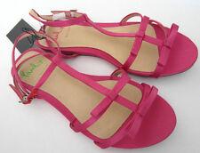"Paul Smith Sandals EU37 UK4 PAUL X Collection ""ONDINE"" Fushia Satin"