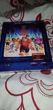 Wreck It Ralph 3D+2D Blu-Ray BLUFANS Exclusive Lenticular Steelbook-Sticker/Book