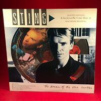 STING The Dream Of The Blue Turtles 1985 UK Vinyl LP Picture Disc EXCELLENT COND