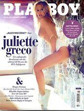 """Playboy 05/2017   """"Alles was zählt""""-Star JULIETTE GRECO   Mai/2017"""