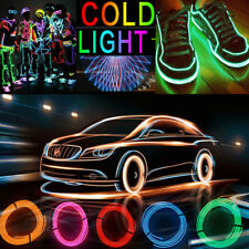 8 colors 3V Neon LED Light Glow EL Wire String Strip Rope Car Party Waterproof