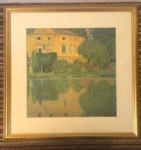 John Lewis Framed, Glazed Gustav Klimpt Print 1/2