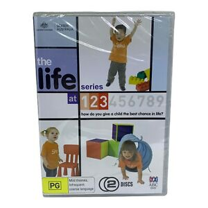 Brand New & Sealed The Life Series at 1,2,3 DVD - Region ALL, PAL - ABC (2008)