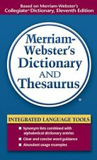 Merriam-Websters Dictionary and Thesaurus by Merriam-Webster Inc.