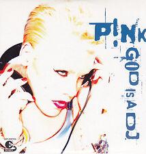 Pink-God Is A DJ cd single