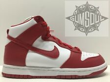 NIKE DUNK HIGH RETRO QS BE TRUE BTTYS ST. JOHNS WHITE RED 850477 102 sz 10