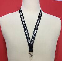 Custom Printed Personalised Lanyard Neck Strap
