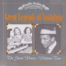 GREAT LEGENDS OF NOSTALGIA : Great Voices Volume Two CD