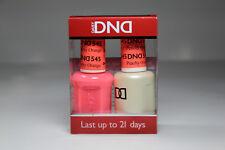 DND Daisy Nail Gel & Lacquer Polish Duo Pack 0.5 oz / 15 mL