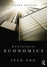 Managerial Economics, 4th Edition by Ivan Png (2012, Paperback, Revised)