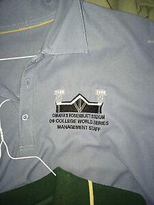 CWS Men's Rosenblatt Stadium Management Polos Several Colors XL