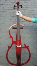 New Electric Cello 4/4 Wonderful Sound Silent Red Color Bag Bow Yinfente Brand