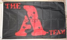 The A-Team 3'x5' black flag/banner - Mr. T 80's TV shows, USA Seller Shipper