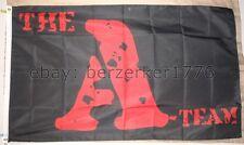 The A-Team 3'x5' black flag/banner - Mr. T 80's TV shows, USA Seller Shipper