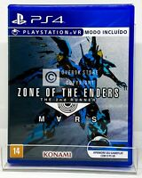 Zone of the Enders 2nd Runner Mars - PS4 - New | REGION FREE | Portuguese Cover