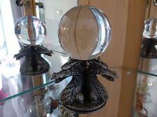 Myth & Magic - 3821 Dragon Heads Crystal Ball - V RARE Tudor Mint Fortune Teller