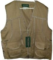 Avid Outdoor Mens Khaki Hunting Vest Multi Pocket Size 2XL Brand New With Tag