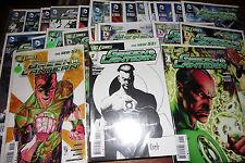 Green Lantern #1 - 16 SET w/ matching rare variants NEW 52 LOT