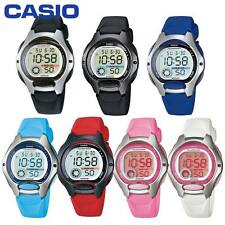 Reloj Casio LW-200 Niño Niña Mujer Blanco Negro Azul Rojo Rosa Gris Plata LW200