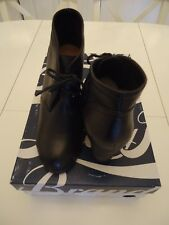 LUCKY BRAND ANKLE LP-SWAYZE BOOTIES, BLACK, GOAT, SZ 10M, MSRP $79.50 NEW WHIT B