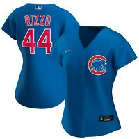 New 2021 MLB Chicago Cubs Anthony Rizzo Nike Womens Alternate Replica Jersey
