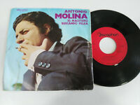 "ANTONIO MOLINA EL MACETERO SINGLE 7"" VINILO VINYL 1972 DISCOPHON SPANISH EDITION"