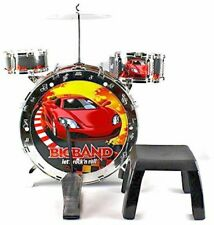 Childrens Kids Rock Drum Kit Cymbal Music Percussion Playset Toy Light Up
