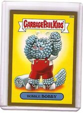 """2014 TOPPS GARBAGE PAIL KIDS SERIES 2  """"BUBBLE BOBBY"""" GOLD Parallel 89a"""