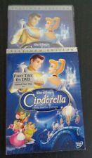 Cinderella (DVD, 2005, 2-Disc Set) DISNEY + Buena Vista Stamp & Slipcover NEW