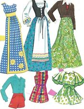 Shiny Paper Doll Oufits