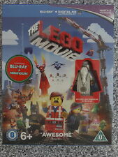 The LEGO MOVIE Blu-Ray + Vitruvius Mini Figure (New & Sealed)