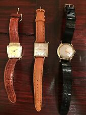 Hamilton Electric Watch Lot Everest Victor Van Horn