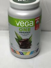 Vega One Organic All-In-One Shake Mocha Vega 25.3 oz Powder USDA Organic