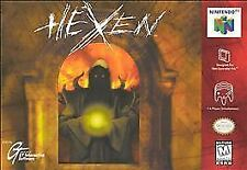 Hexen Nintendo 64 Authentic N64 Game Cart Tested FPS Shooter SUPER FAST SHIP!