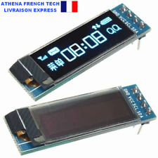 Afficheur LCD 128x32 0.91'' I2C : prototypage, DIY, makers, éducation