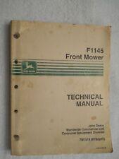 John Deere  F1145 Front Mower Technical Service Manual  TM1519