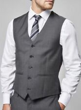 BNWT Next Signature Texture Waistcoat 32R/ Charcoal - Grey / RRP £60