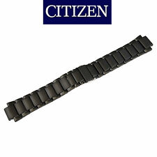 Citizen Axiom Black Stainless Steel Bracelet Watch Band AT2245-57E AU1065-58E