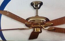 """Sunset Home Air Ceiling Fan Polished Brass  5 Blade 52"""""""