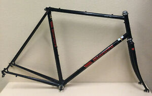 BIANCHI SPORT SX FRAME AND FORK 57 CM CHROMOLY TUBING BRACKET AND HEADSET