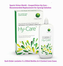 CooperVision Hy Care 3 month Pack Contact Lens Solution With Extra Free Case