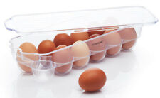 Kitchen Craft Spare 12 Hole Egg Holder Fridge Tray Shelf & Lid Storage Box Tidy