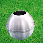 Big Round Candle Mold - Making Candle Aluminum Ball 20cm Diameter- USED