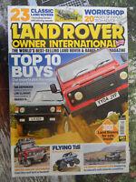 Land Rover Owner Int 12/2013 Series 1 2 3 Defender Range Discovery Freelander