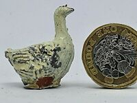 Prewar Pixyland/Kew 54mm hollow-cast lead goose for farm or railway