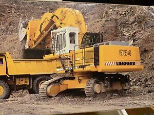 1:50 Conrad Escavatore Liebherr L 984  Hydraulic Excavator - Die Cast