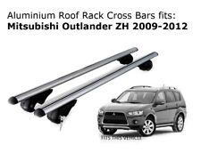 Aluminium Roof Rack Cross Bars fits Mitsubishi Outlander ZH 2009-2012