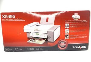Lexmark X5495 Multifunction Color Inkjet Printer w/Copy, Scan, and Fax Copier