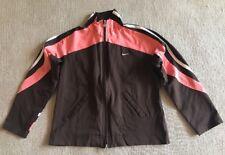 Nike Jacket Athletic Zip Front Brown Women's Long Sleeve M( 8-10) #C2
